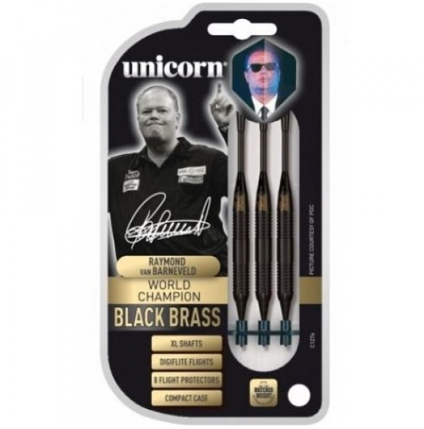 Unicorn Weltmeister RVB Barney Black Brass Softtip 17g