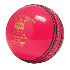GM Super County Test Grade Kricketball Cricket Ball Pink