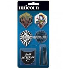 Unicorn Dart Zubehör Set