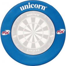Unicorn Profi PDC Blau Dartscheibe Schutzring Auffangring Surround