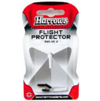 Harrows Flight Fly Protector Set aus Aluminium Schwarz