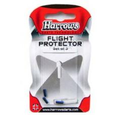 Harrows Flight Fly Protector Set aus Aluminium Blau