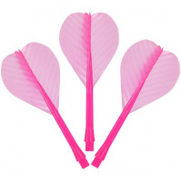 Pub Restaurant Dart Fly Shaft Combo Set Pink