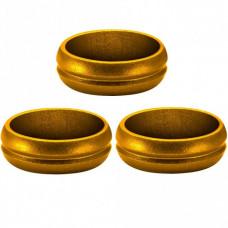 Mission F-Lock Ringe für Fly Befestigung aus Alu Gold