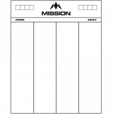 Mission Scoreboard Schreibtafel 50 x 40cm