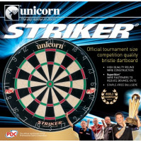 Unicorn Striker Offizielles PDC Bristle Dart Board (79383)