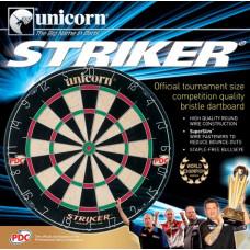 Unicorn Striker Offizielles PDC Bristle Dart Board (79383)