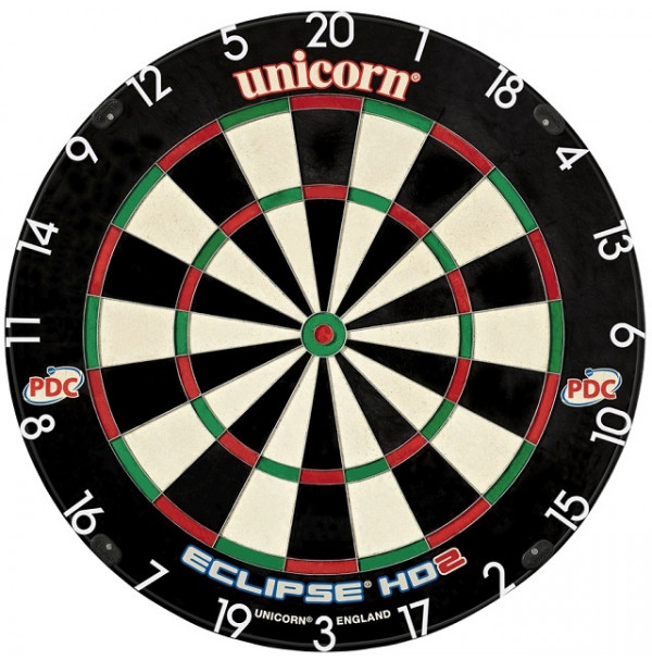 Unicorn Eclipse HD2 TV PDC Dart Board 79448