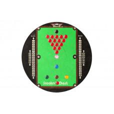 Bull's Snooker Sisal Trainingsboard Dartboard