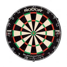 Nodor Supamatch 3 Bristle Dartboard Dartscheibe