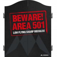 Mission Beware Area 501 Dartboard Kabinet Dartschrank Dartkasten