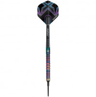 Winmau Graffiti Neochrome Tungsten Soft Softtip Dartpfeile Set 18g