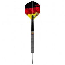 Designa Patriot 90% Wolfram Stahl Dartpfeile Set Deutschland 22g