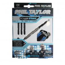 Target Phil Taylor Power Strike Tungsten Stahl Dartpfeile Set 21g