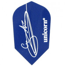 Unicorn Authentic .100 Gary Anderson Flys Blau