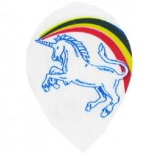 Unicorn .75 Rainbow Flys Set