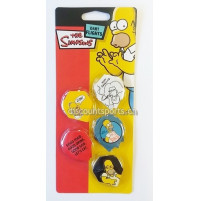 The Simpsons Dart Fly 5er Set