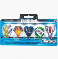 Harrows Dart Flys Radical System 5er
