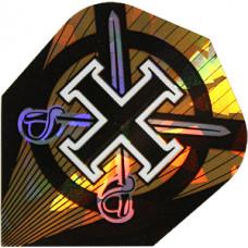 Harrows Hologram Dart Flys Honour