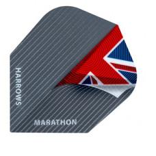 Harrows Dart Flys Flights Marathon Union Jack Pinstripe