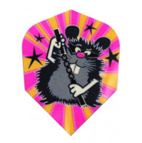 Harrows Dart Flights Flys Quadro Ninja Hamster