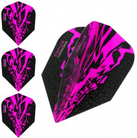 Harrows Rapide X Dart Flights Flys Set Pink