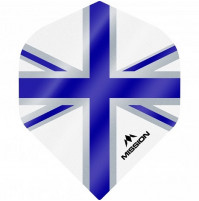 Mission Alliance Union Jack 100 Micron Fly Set Weiss Blau
