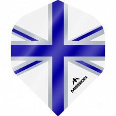 Mission Alliance Union Jack 100 Micron Fly Set Weiss Blau