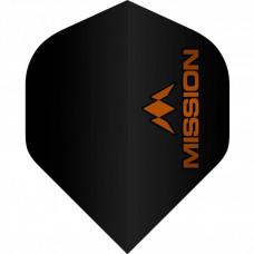 Mission 100 Micron Flys Set Schwarz Orange