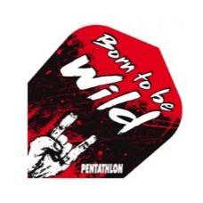 Pentathlon Dart Fly Set Born To Be Wild