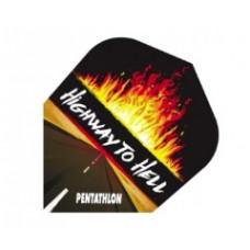 Pentathlon Dart Fly Set Highway To Hell