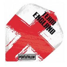 Pentathlon Dart Fly Set Team England