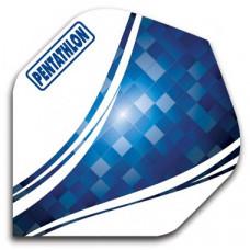 Pentathlon Dart Fly Set Blau Pixel