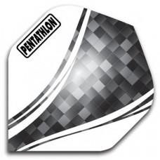 Pentathlon Dart Fly Set Schwarz Pixel