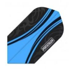 Pentathlon Dart Fly Set Slim Blau