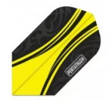 Pentathlon Dart Fly Set Slim Gelb