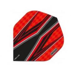 Pentathlon Dart Fly Set Rot