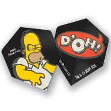 The Simpsons Dart Fly Set Homer Doh