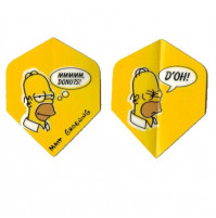 The Simpsons Dart Fly Set Homer Donuts