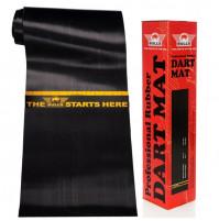 Bull's Professional Dart Mat Dartmatte aus Hochleistungsgummi