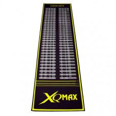 XQMax Checkout Dartmatte Dartteppich 285 x 80cm Schwarz Grün
