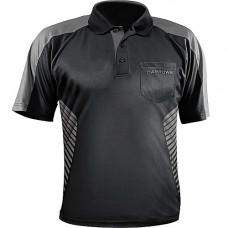 Harrows Vivid Dart Trikot Shirt Schwarz Grau 2XL