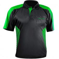 Harrows Vivid Dart Trikot Shirt Schwarz Grün 2XL