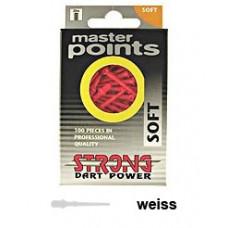 Strong Master Points 2BA Softdart Spitzen 100er Weiss