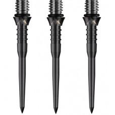 Mission Titanium Pro Converta Conversion Soft zu Stahldart Spitzen 34mm Schwarz