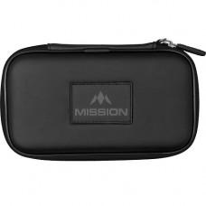 Mission Freedom XL Wallet Dartkoffer Dartetui Schwarz