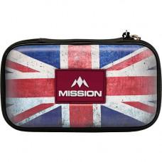 Mission Freedom XL Wallet Dartkoffer Dartetui Union Jack
