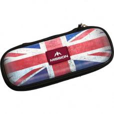 Mission Freedom Slimline Wallet Dartkoffer Dartetui Union Jack