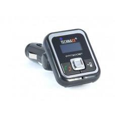 Technaxx FMT200BT FM Transmitter mit Bluetooth Freisprechfunktion