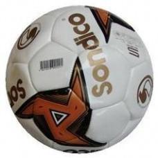 Sondico Allwetter Fussball Weiss Gold Turniergrösse